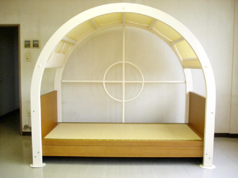 防災ベッド01